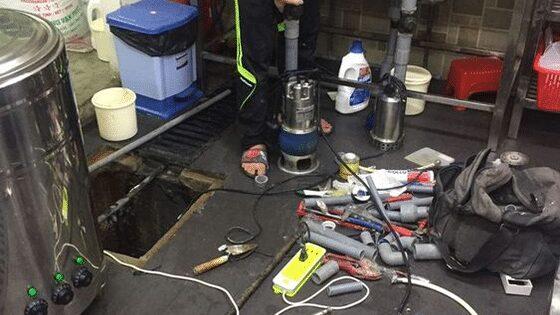 Sửa máy bơm nước bể ngầm