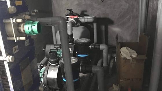 Lắp đặt máy bơm bể sục